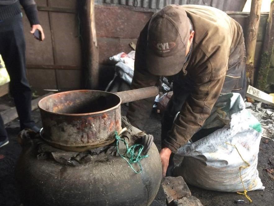 Preparación del chirrinche