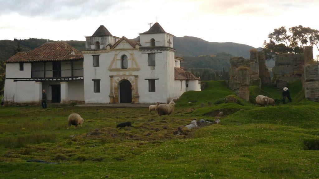 Capilla doctrinera de Siecha, en Guasca..