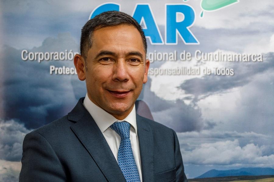 Luis Fernando Sanabria, director de la Corporación Autónoma Regional de Cundinamarca (CAR).
