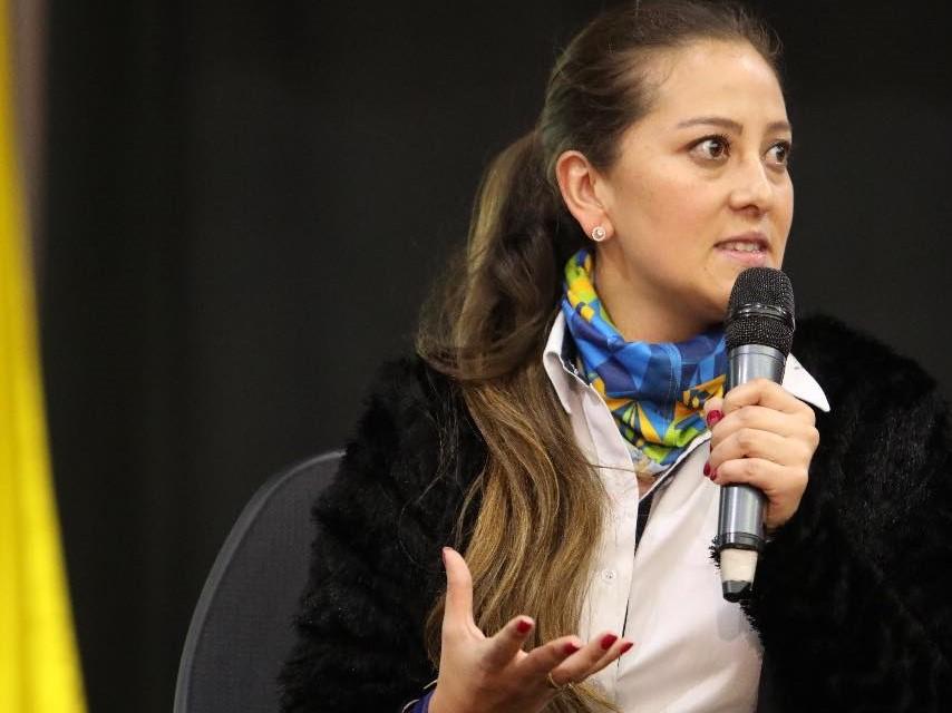 Luisa Fernanda Aguirre, gerente Idecut