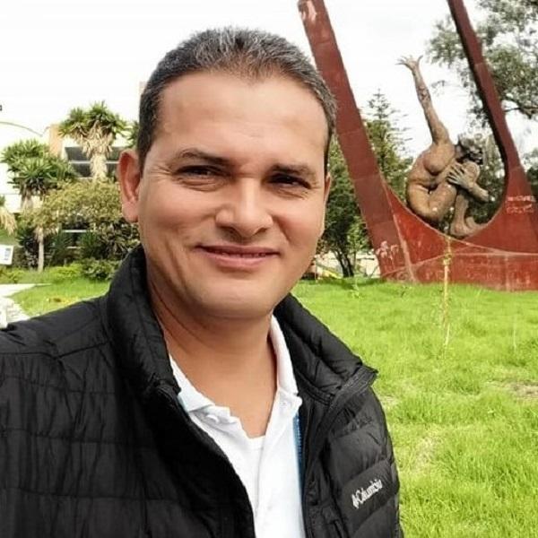 Hugo Alexander Bermúdez, alcalde de Anapoima.